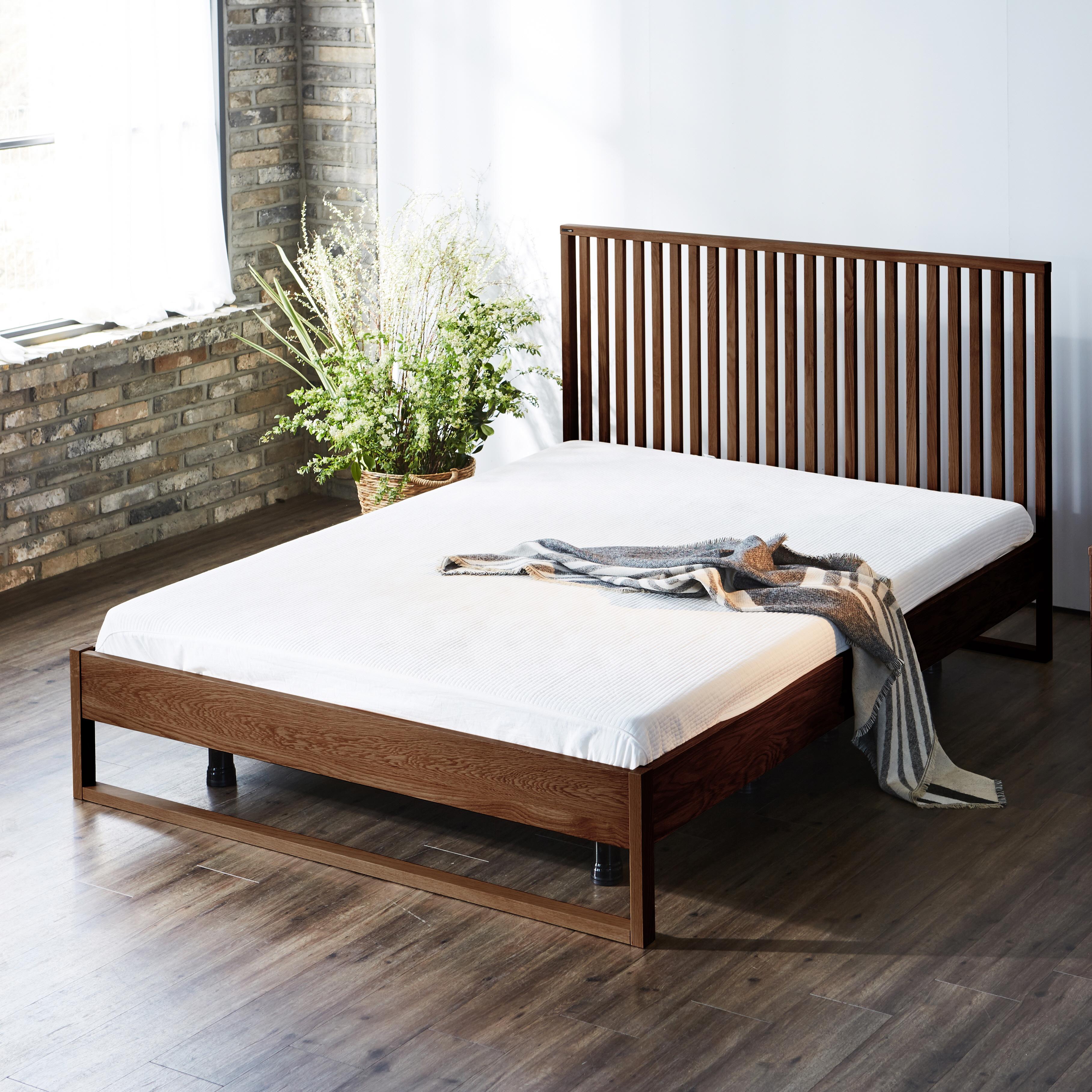 [블라스코] 하겐 퀸 침대(매트 미포함)의 썸네일 이미지