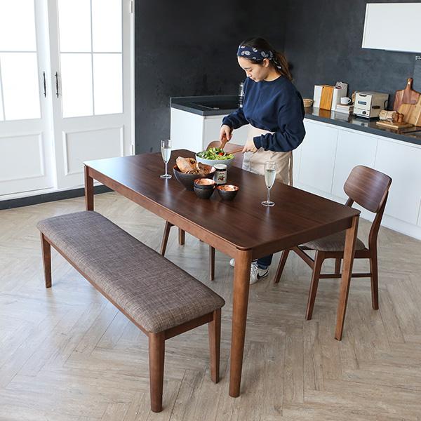 [NEW ARRIVAL 특가] 알마 1608 4-6인용식탁세트(벤치1+의자2set포함)의 썸네일 이미지