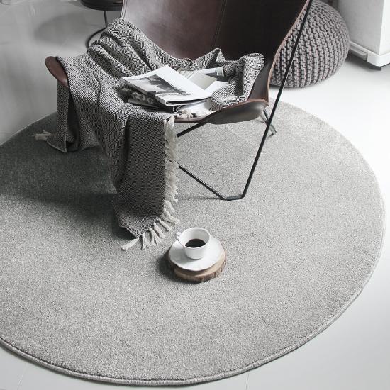 영국 수입완제 꼴마르 라운드 카페트(미스트) England cormar round carpet(mist)의 썸네일 이미지